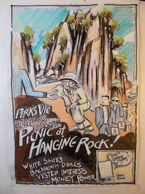 Hanging rock poster 2