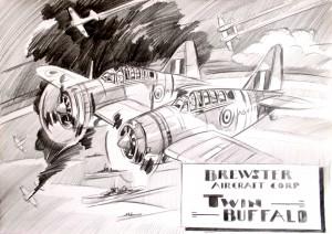 Brewster Twin Buffalo