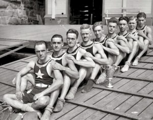 antique rowing eight 3