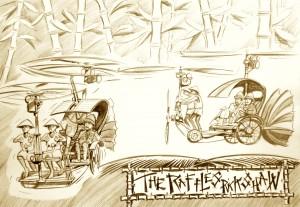 raffles rickshaw 2
